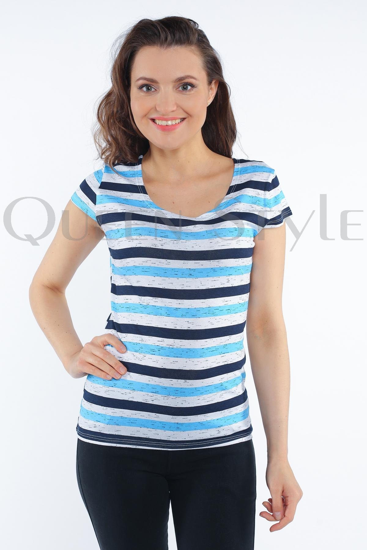 блуза в полоску 55081 (старая цена-399 руб!)
