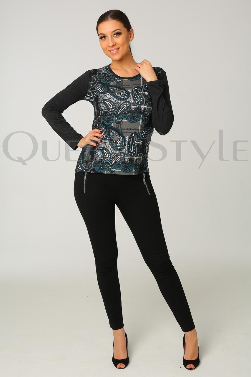 блуза с рисунком огурцы 51144