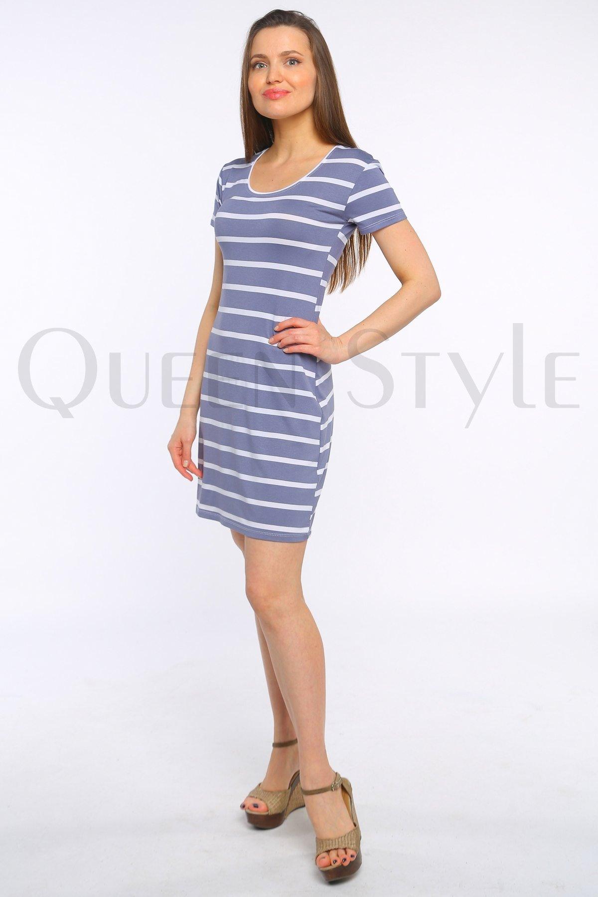 платье с короткими рукавами 34074
