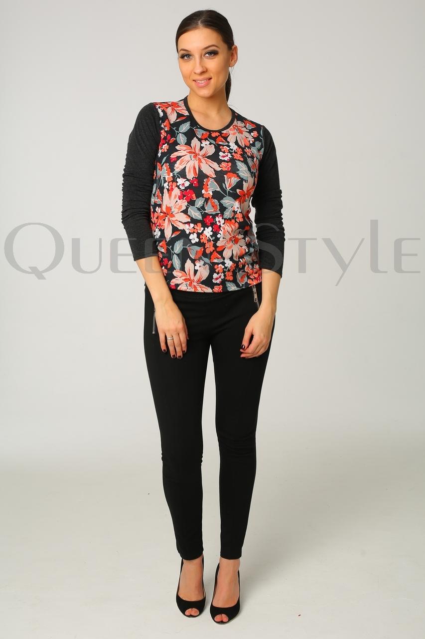 блуза с цветами 51147